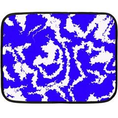 Migraine Blue Fleece Blanket (Mini)