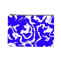 Migraine Blue Cosmetic Bag (Large)