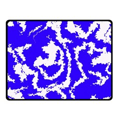 Migraine Blue Fleece Blanket (Small)