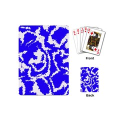 Migraine Blue Playing Cards (Mini)