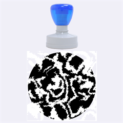 Migraine Blue Rubber Round Stamps (Large)