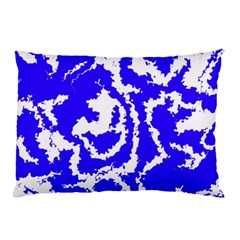 Migraine Blue Pillow Cases (Two Sides)