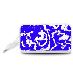 Migraine Blue Portable Speaker (White)