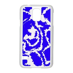 Migraine Blue Samsung Galaxy S5 Case (white)