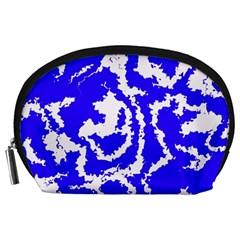 Migraine Blue Accessory Pouches (Large)