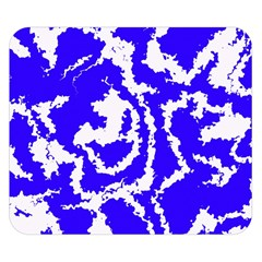 Migraine Blue Double Sided Flano Blanket (Small)