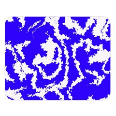 Migraine Blue Double Sided Flano Blanket (Large)