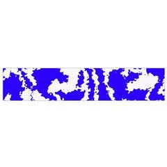 Migraine Blue Flano Scarf (small)