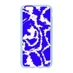 Migraine Blue Apple Seamless iPhone 6 Case (Color)