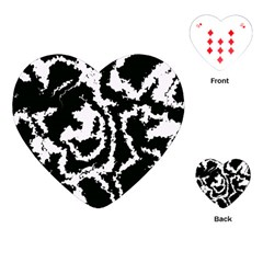 Migraine Bw Playing Cards (Heart)