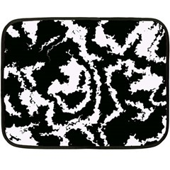Migraine Bw Fleece Blanket (Mini)