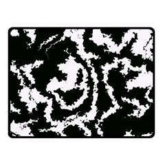 Migraine Bw Fleece Blanket (small)