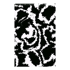 Migraine Bw Shower Curtain 48  x 72  (Small)