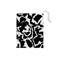 Migraine Bw Drawstring Pouches (Small)
