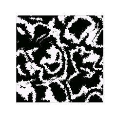 Migraine Bw Small Satin Scarf (Square)