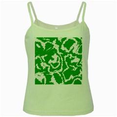 Migraine Green Green Spaghetti Tanks
