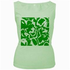 Migraine Green Women s Green Tank Tops