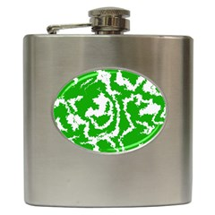 Migraine Green Hip Flask (6 Oz)