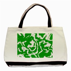 Migraine Green Basic Tote Bag