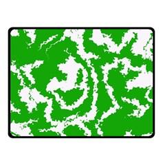 Migraine Green Fleece Blanket (Small)