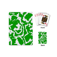 Migraine Green Playing Cards (Mini)