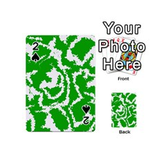 Migraine Green Playing Cards 54 (Mini)