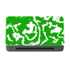 Migraine Green Memory Card Reader with CF