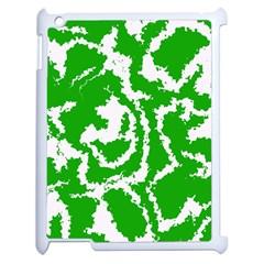Migraine Green Apple iPad 2 Case (White)