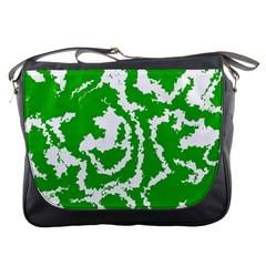 Migraine Green Messenger Bags