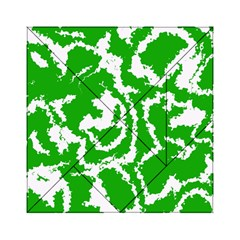 Migraine Green Acrylic Tangram Puzzle (6  x 6 )