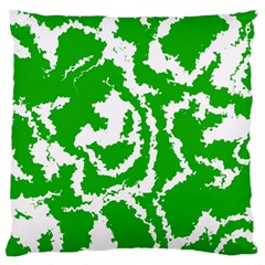 Migraine Green Large Cushion Cases (One Side)