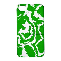 Migraine Green Apple iPhone 4/4S Hardshell Case with Stand
