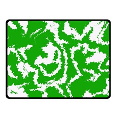 Migraine Green Double Sided Fleece Blanket (Small)