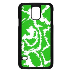 Migraine Green Samsung Galaxy S5 Case (Black)
