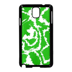 Migraine Green Samsung Galaxy Note 3 Neo Hardshell Case (black)