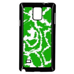 Migraine Green Samsung Galaxy Note 4 Case (black)