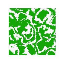 Migraine Green Small Satin Scarf (Square)