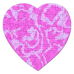 Migraine Pink Jigsaw Puzzle (Heart)