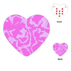 Migraine Pink Playing Cards (Heart)