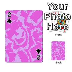 Migraine Pink Playing Cards 54 Designs