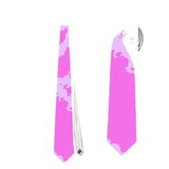 Migraine Pink Neckties (One Side)