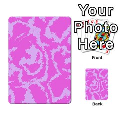 Migraine Pink Multi-purpose Cards (Rectangle)