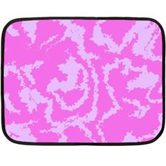 Migraine Pink Double Sided Fleece Blanket (Mini)