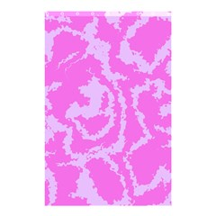 Migraine Pink Shower Curtain 48  x 72  (Small)