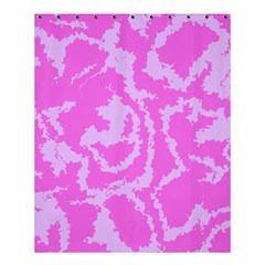 Migraine Pink Shower Curtain 60  x 72  (Medium)