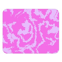 Migraine Pink Double Sided Flano Blanket (large)