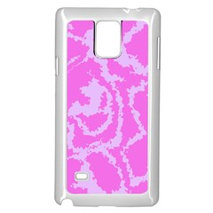 Migraine Pink Samsung Galaxy Note 4 Case (white)
