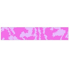 Migraine Pink Flano Scarf (Large)