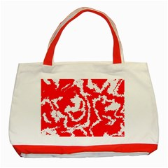 Migraine Red White Classic Tote Bag (Red)