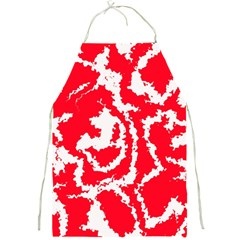 Migraine Red White Full Print Aprons
